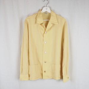70's Open-collar Shirt Jacket