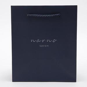 ナーノサボン 手提げ袋 紙袋