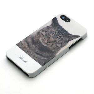 iPhone case キジ猫(5、5s、SE用)