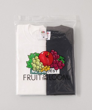 NO GUEST × FRUIT OF THE LOOM 2PACK Tシャツ