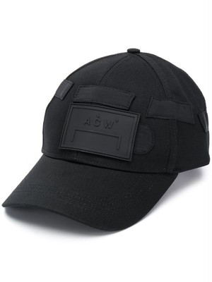 A-COLD-WALL* / CLASSIC CAP WITH RUBBER LOGO