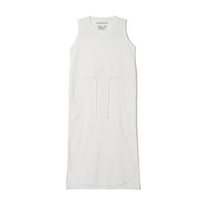 White Mountaineering / NO SLEEVE DRESS[WHITE]