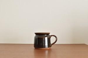 インド マグカップ ブラック(L)