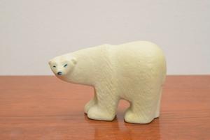 【送料無料】リサラーソン グスタフスベリ スカンセンシロクマ(Polar baer)【GUSTAVSBERG/SKANSEN Bjorn】北欧 食器・雑貨 ヴィンテージ | ALKU