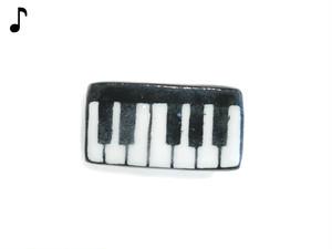 <通年>ピアノ好きのための鍵盤帯留め