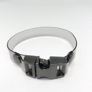 PVC BRACELET / BLACK