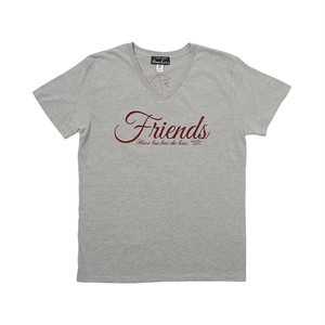 インディーズデザインTシャツ「Friends」 ユニセックスフォントTシャツ