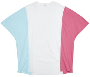 3 COLORS TEE - WHITE