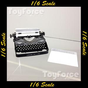 【02317】 1/6 DiD タイプライター