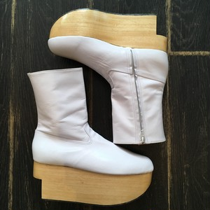 Vivienne Westwood Rocking horse shoes Boots White