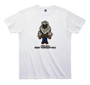 《山本周司Tシャツ》TY002/ FREE MAN