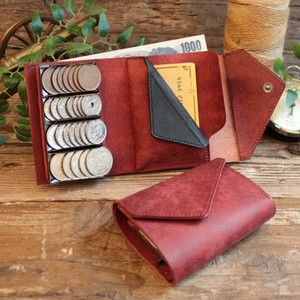 Coin Wallet Ⅲ / BRICK RED