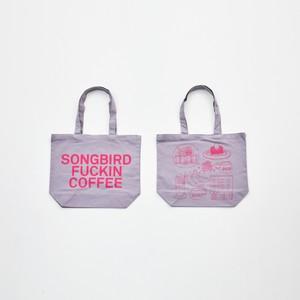 Anoraks | SONGBIRD FUCKIN COFFEE TOTE Anoraks Size [Gray+Pink]