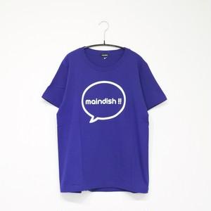 maindish CLASSIC LOGO T / BLUE