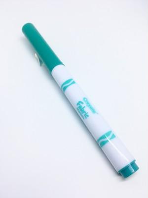 Crayola Fine Line Fabric Marker Turquoise