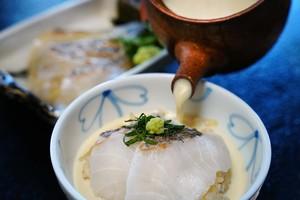 豆乳鰤茶漬け(一人前)