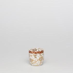 九谷焼 しろつぶ鉄仙 手元供養