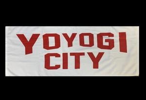 YOYOGI CITYタオル