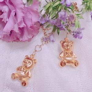 bear heart pierce(earring)