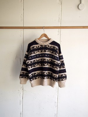 USED, Wool Handmade Knit
