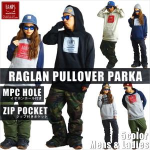 RAGLAN PULLOVER PARKA LG bp-57