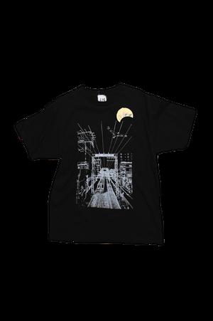 NO.624 鶴間駅前陸橋からのTシャツ【神奈川】【Lサイズ】
