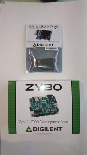 ZYBO + Pmod OLEDrgb セット