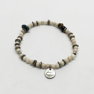 amp japan/Round River stone Bracelet