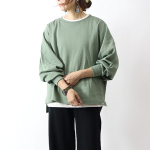 【GENTIL/ジャンティ】全5色 接結シシャモ袖Tシャツ[No.129-104-1011095]