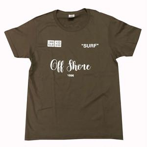 IROGLO/イログロ/Off Shore/Tシャツ/ダークオリーブ