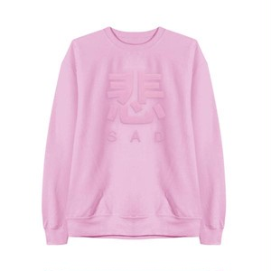 【MaryJaneNite】SAD SWEATSHIRT pink