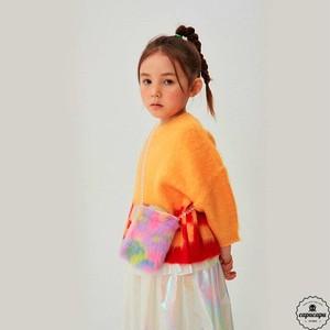 «予約» square knit 2colors しかくのニット