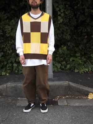 wonderland, Knit polo vest