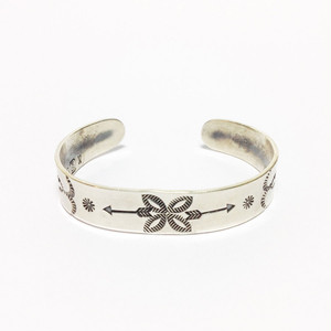 "North Works ""Stamped 900Silver Cuff Bracelet Arrow"""