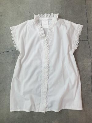 euro vintage lace blouse
