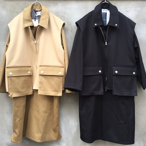 "KIIT  ""p/c w face 3way layered coat"""