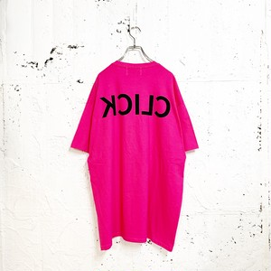 CLICK TEE(PINK)