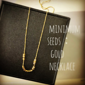 minimum seeds:necklace