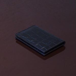 FLORIDA BLACK / PINETTI DOUBLE BUISINESS CARD HOLDER(フロリダ ブラック / ピネッティ ダブルビジネスカードホルダー)