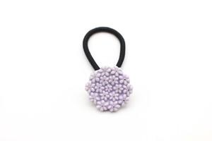 有田焼ヘアゴム flower 26 (紫)