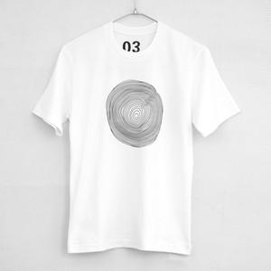 annual ring / シルクプリントTシャツ・カットソー