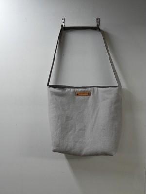 ワンショルダーモコフワトートバッグ ジャパンリネン・11号帆布