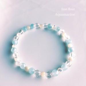 Aquamarineヒーリングブレスレット
