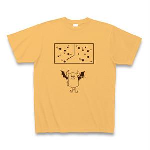 理系Tシャツ【マクスウェルの悪魔/ライトオレンジ】-(Scien-T'st)Maxwell's Demon/LightOrange-
