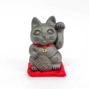 招き猫「招鬼猫すずニャンコ5号」鬼師kumi作