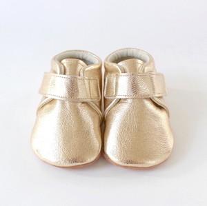 baby shoes(plain)gold