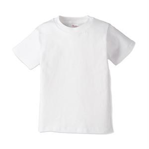 キッズ クルーネックTシャツ (半袖) ホワイト