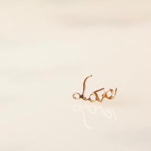 Love (ラブ) ピアス( 片耳)