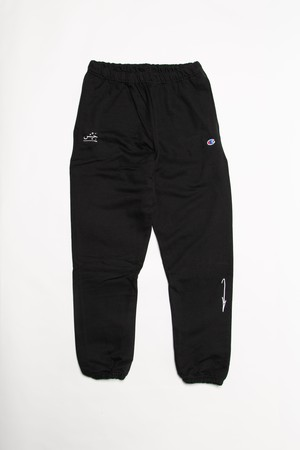 ARROW SWEAT PANTS (BLACK)