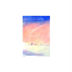 【選べるポストカード3枚セット】No.148 冬の朝